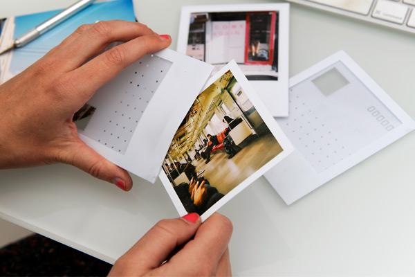 polaroid postcards aileen bennett