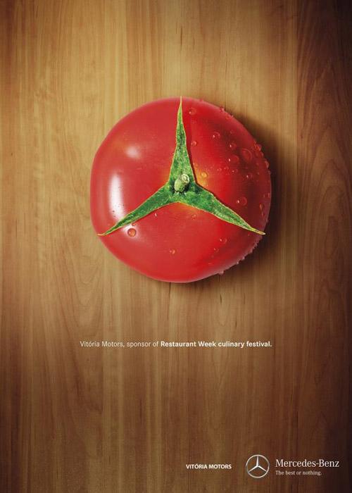 tomato mercedes-benz