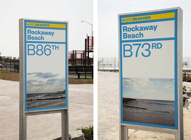 NYC Beaches - Signage