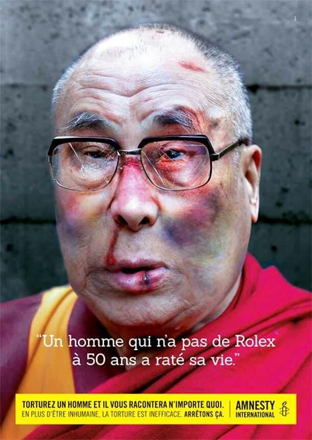 Dalai Lama Amnesty International