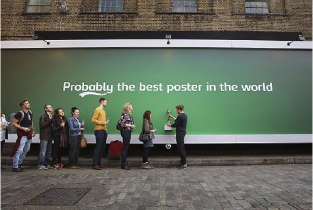 Carlsberg billboard