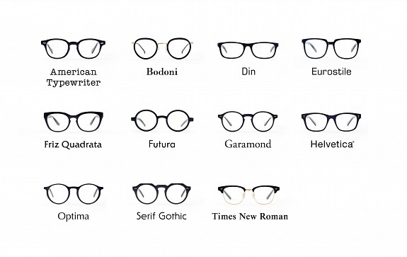 6c0e1cbfd91 Choose your glasses by typeface... - aileen bennett