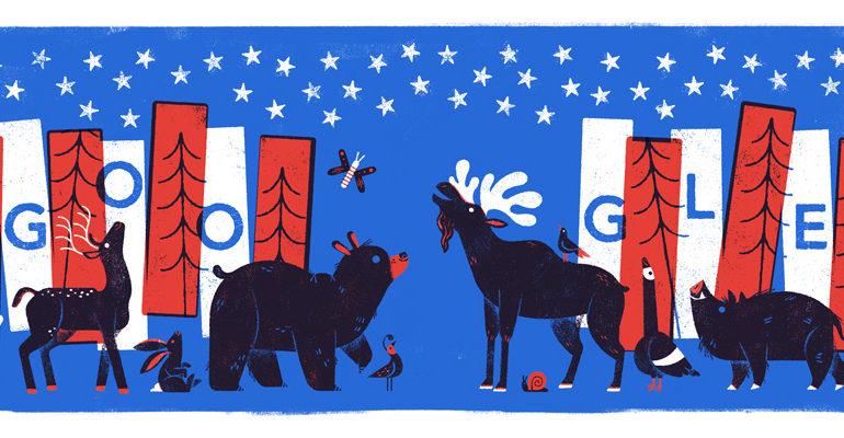 Google Doodle - America's best idea